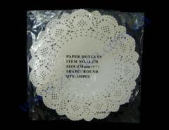Napkin openwork d=17,8sm 100 of piece