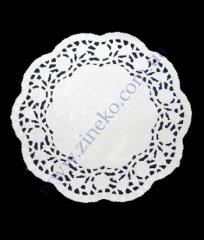 Napkin openwork d=10sm 100 of piece