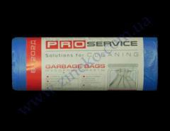 Мешки для мусора Pro-16113000-81202Д 60л 20шт 8мк синие