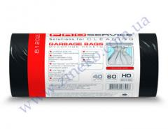 Мешки для мусора Pro-16113100-81202Е 60л 40шт черные