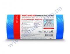 Мешки для мусора Pro-16113200-81202Ж 60л 40шт синие