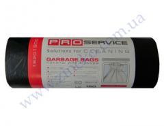 Мешки для мусора Pro-16201930, 16201900 черные 160л 20шт 90х120с