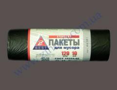 Мешки для мусора Z-Веst-44381 черные 120л...