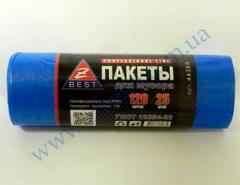 Мешки для мусора Z-Веst-44388 синие 120л 25шт 20мк