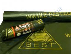 Мешки для мусора Z-Веst-44487 черные 160л 10шт 25мк +печать