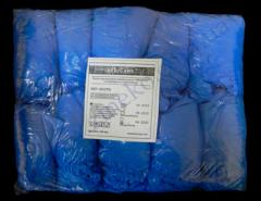 Boot covers blue of the chlorinated polyethylene