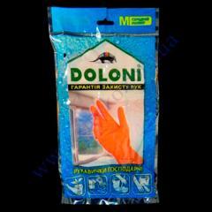 Перчатки Doloni хозяйственные размер М-8...