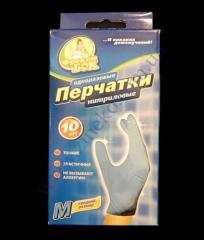 Gloves nitrile of 10 pieces of FB of river. M