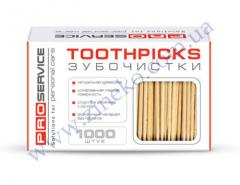 Toothpicks of 1000 pieces without unitary enterprise