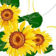 Napkin 33х33 Sunflower of 20 pieces