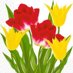 Салфетка 33х33 Тюльпаны