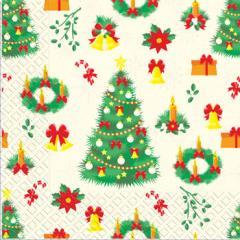 Napkin 33х33 Christmas of Margo of 20 pieces