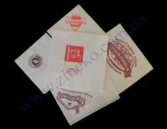 Napkin of 25*25 80 pieces with the customer's log