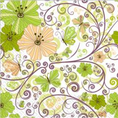 Napkin 33х33 Waltz of the Flowers of Margo of 20 pieces