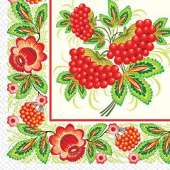 Napkin 33х33 guelder-rose of Margo of 20 pieces