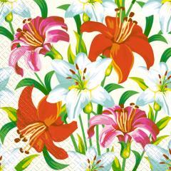 Napkin 33х33 Royal lilies of Margo of 20 pieces