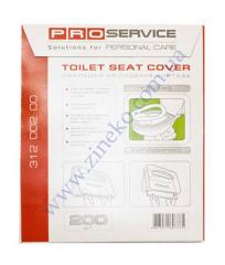 Overlays of Pro-31200200 for a toilet bowl of 200 pieces