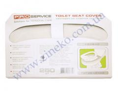 Overlays of Pro 1/2 for a toilet bowl of 250 pieces white