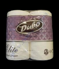 Toilet paper of Elite of Butts it is white 3sl4r/156