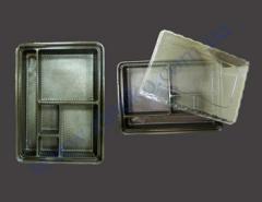 Емкость ПС-610ДБ+крышка ПС-61К деления для суши 180шт