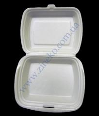 Lunchbox 24*20,5*8sm without division of 100 pieces of LB-1
