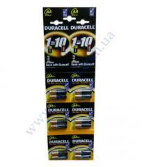 Батарейка алкалиновая Duracell Basic AA 1.5V LR6 12шт 6*2шт отр