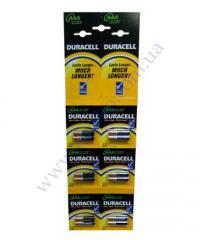 Батарейка алкалиновая Duracell Basic AAА 1.5V LR03 12шт 6*2шт о