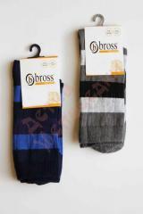 Носки в полоску Bbross, микс цветов, 34-36