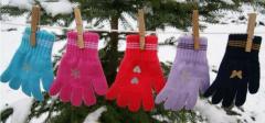 Перчатки для девочки Tinsel Margot Bis, микс