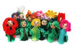 Кукольные театры. Цветочный театр.
