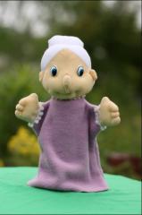 Перчаточные куклы на руку для кукольного театра.