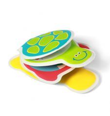 Игрушки для ванной книжка- пищалка Черепаха