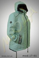 The jacket is spring, model 17-01 TM MIola