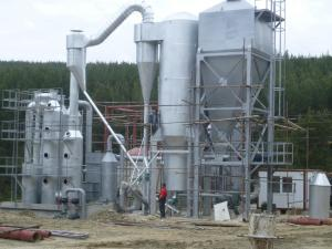 Газогенераторные электростанции,  газогенерат