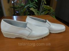 Туфли рабочие женские (белые)