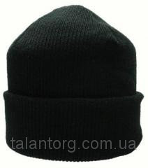 The cap is knitted double