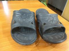 Bedroom-slippers rubber for a shower