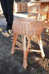 Stool Round of a rod, model: 2