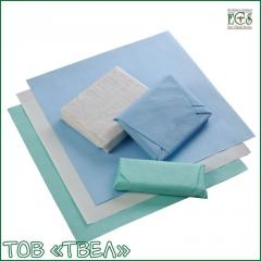 Crepe paper sheet for sterilization / 120x120 cm,