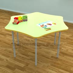 Столик детский шестигранный