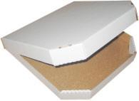 Box under pizza