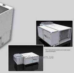 El calentador de suelo RK-A con la condensación la variante horizontal