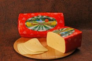 El queso firme sychuzhnyy ` Bukovinsky`