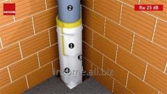 Шумоізоляція для труб Tecsound FT 75