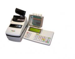 The specialized electronic control cash register