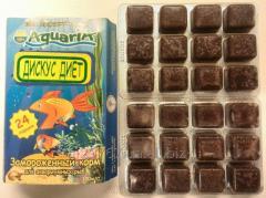 Замороженный корм для аквариумных рыб Дискус диет.