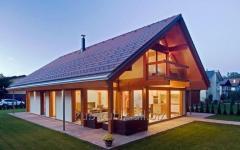 Дома деревянные по каркасной технологии
