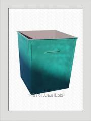 Контейнер для мусора 0,75 м.куб. сталь 1,5 мм