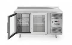 Стол холодильный HENDI 233429, стеклянные двери