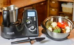 The double boiler is induction